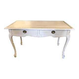 French Country Style Painted Desk