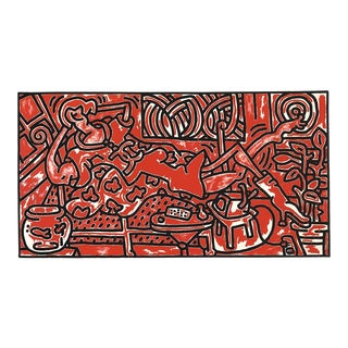 Keith Haring-Red Room-1993 Poster For Sale