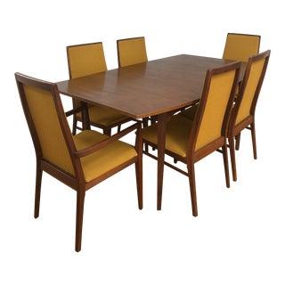 Danish Modern Dillingham Dining Set - 7 Pieces For Sale