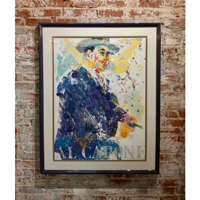 Leroy Neiman -Al Capone-Limited Edition Serigraph-Pencil Signed - Image 10 of 10