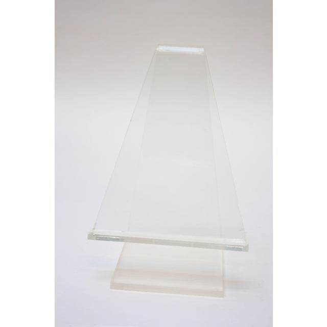 Vintage Lucite Tabletop Lectern / Music Stand - Image 5 of 8