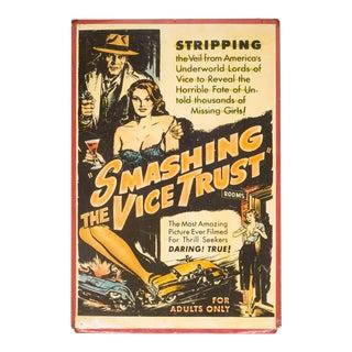 "Orginal ""Sexplotation"" Movie Poster Card C.1936 For Sale"
