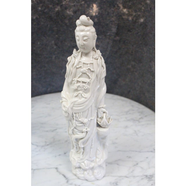 Mid 20th Century Vintage Chinese Porcelain Figurine For Sale - Image 5 of 5