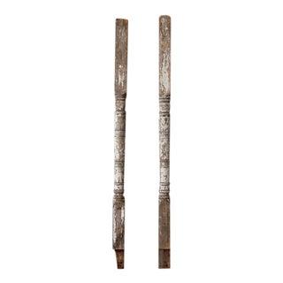 Antique Architectural Columns - A Pair For Sale