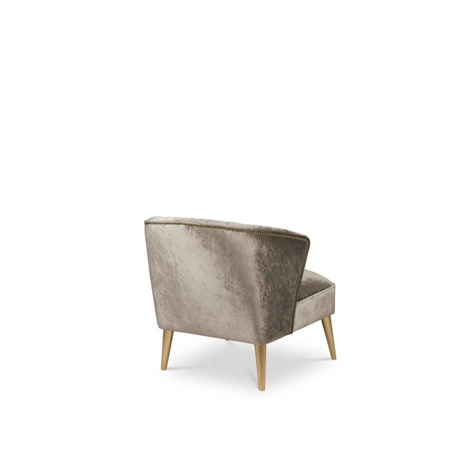 Nuka is a glacier in Alaska known for its sublime beauty. NUKA Armchair came to life inspired by this magnificent natural...