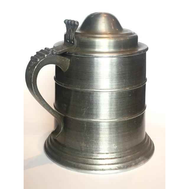 Huge Pewter Stein Ice Bucket For Sale - Image 5 of 7