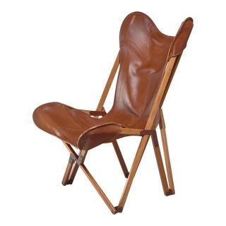 Tripolina Folding Chair, Italy, 1930s