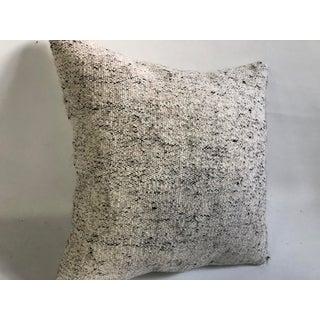 Antique Turkish Handmade White Kilim Pillow Preview