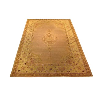 Shiraz - Early 20th Century Antique Agra Rug - 9′ × 12′ For Sale