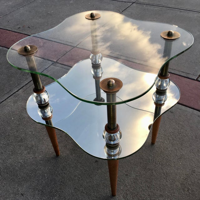 Mid-Century Modern Mid-Century Modern Cloud Table Manner of Gilbert Rhode For Sale - Image 3 of 13