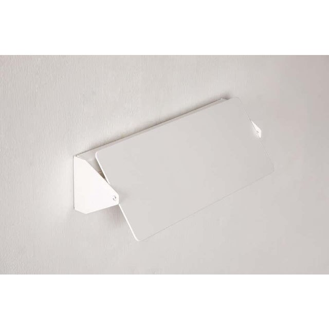 Large Charlotte Perriand 'Applique à Volet Pivotant Double' Wall Lights in White For Sale - Image 12 of 13
