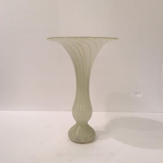 Contemporary Art Glass Vase Chairish