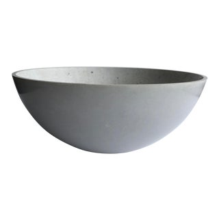 Concrete Hemisphere Decorative Bowl For Sale