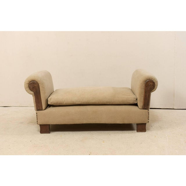 French French Lit De Jour 'Daybed' Circa 1920s-1930s With Nice Rounded Arms For Sale - Image 3 of 11