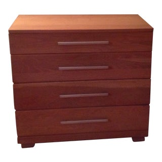 Mid Century Modern Raymond Loewy for Mengal Bachelor Chest in Oak For Sale