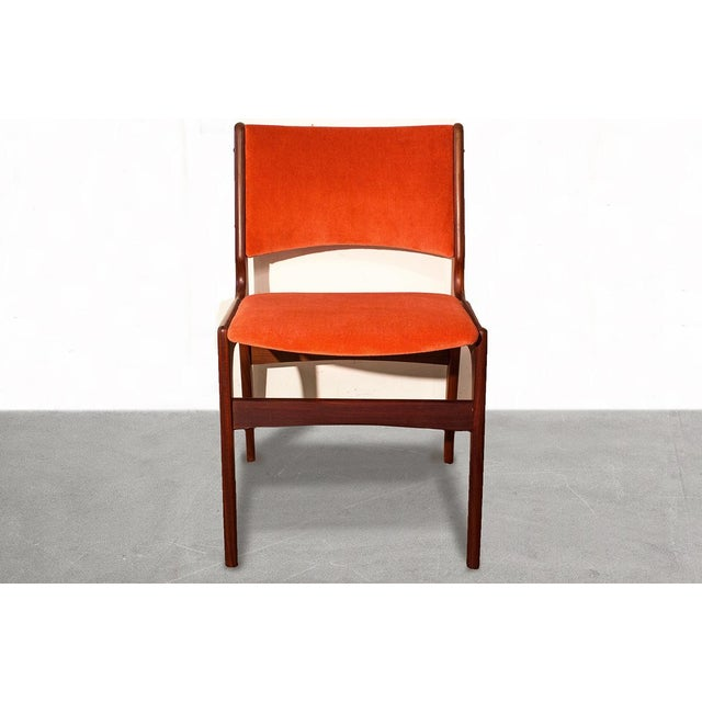 Arne Vodder Style Teak Side Chairs - Set of 4 - Image 3 of 9