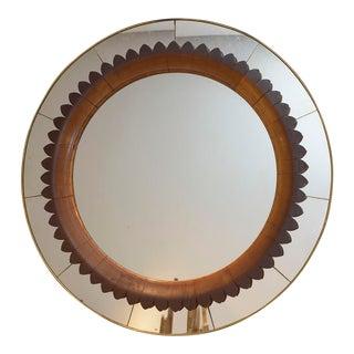 Italian 1940 Fratelli Marelli Wall Mirror