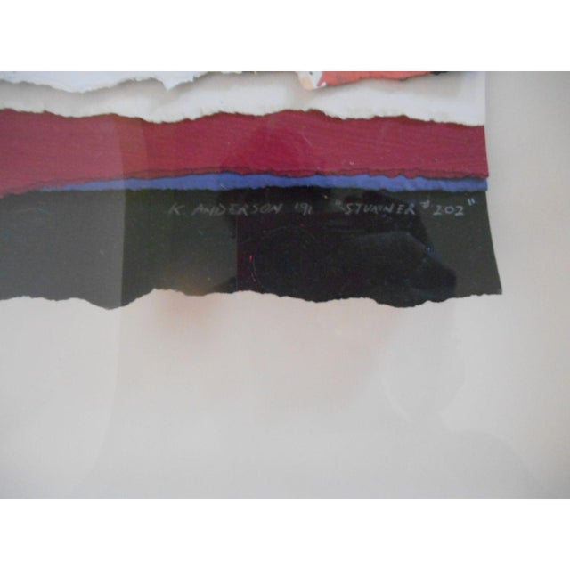 Abstract Art Painting Signed - Image 5 of 6