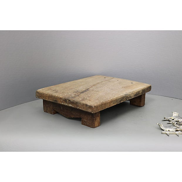 Antique French Rustic Cheese Set For Sale - Image 4 of 5