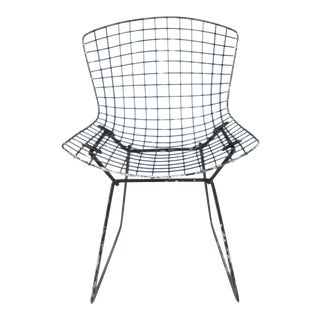 Vintage Bertoia Wire Chair For Sale
