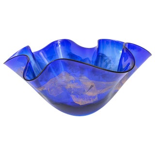 Unusually Larges Murano Centre Piece Bowl by Mauro Becchini
