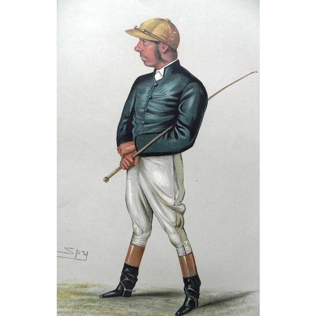 1882 Vanity Fair Jockey Print - The Demon - Image 1 of 2