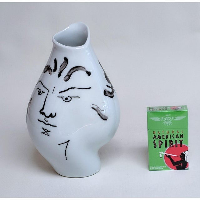Jean Cocteau for Classic Rose Rosenthal Group Vase For Sale - Image 10 of 11
