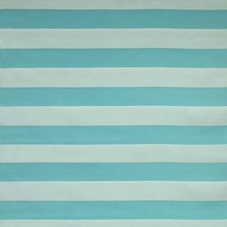"Sunbrella ""Carolina Aquarium"" Indoor/Outdoor Upholstery Striped Fabric By The Yard"