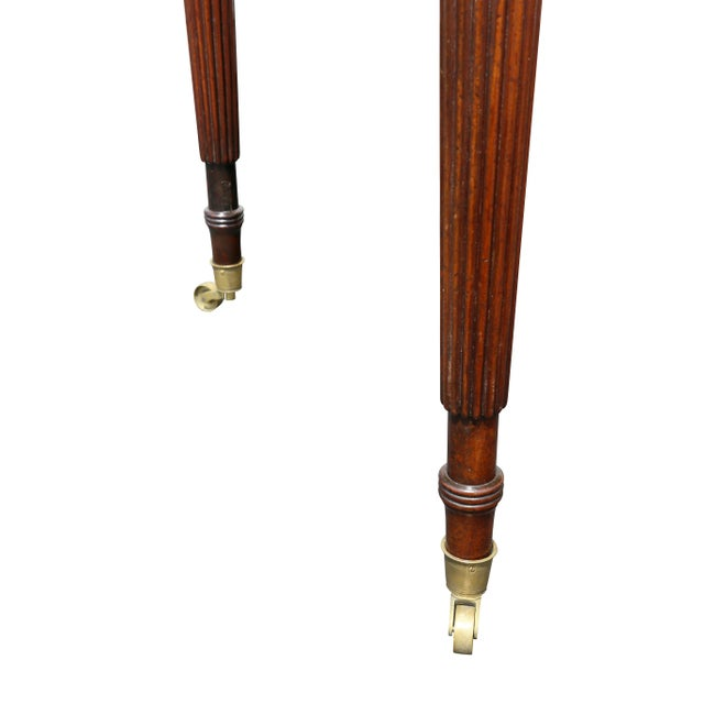 Regency Mahogany Writing Table For Sale - Image 9 of 13