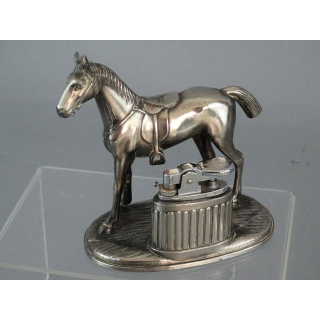 Equestrian Horse Table Lighter - Image 2 of 9