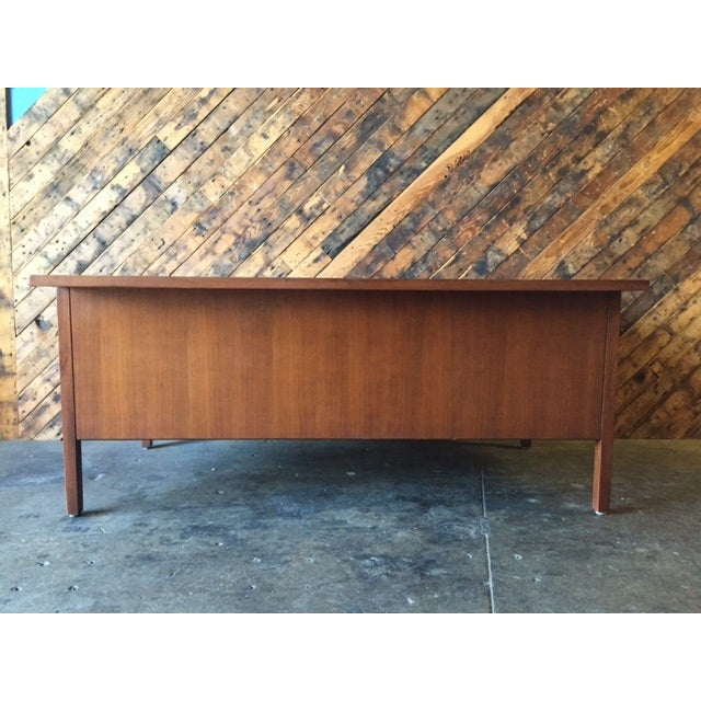 Mid-Century Executive Reception Desk - Image 4 of 6