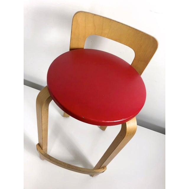 Alvar Aalto by Artek K65 Highback Chair Finland 1940's For Sale - Image 10 of 11