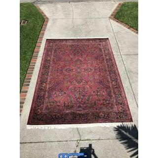 Modern Karastan Red Sarouk Carpet - 8′7″ × 12′7″ Preview