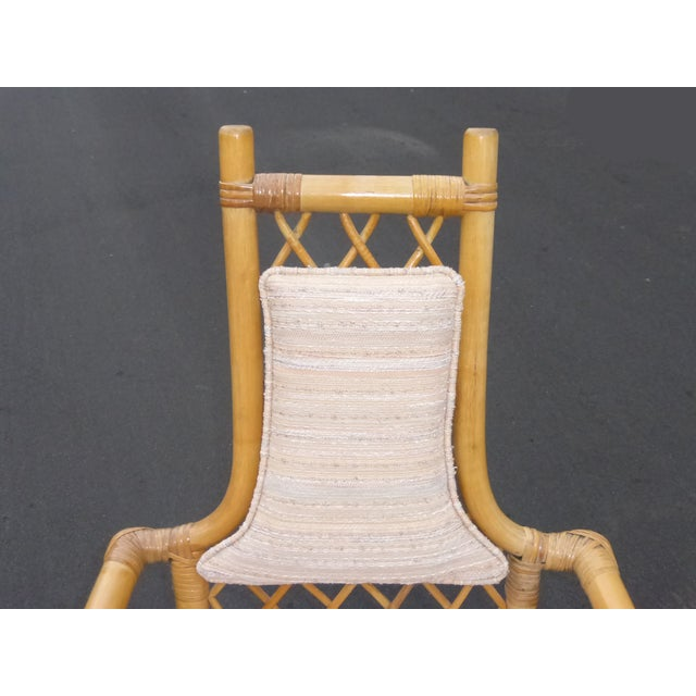 Vintage Mid Century Bamboo Chairs - A Pair - Image 8 of 10