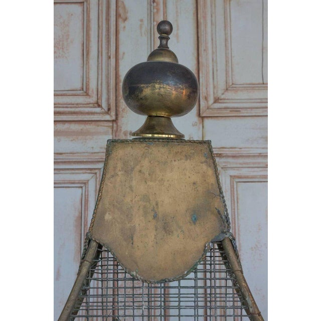 Large French Bird Cage - Image 8 of 10