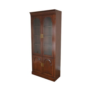 Ethan Allen Georgian Court Display Cabinet For Sale