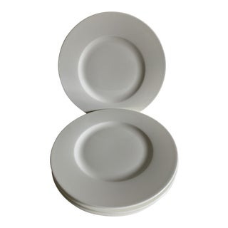 Villeroy & Boch Royal White Salad Plates - Set of 4 For Sale