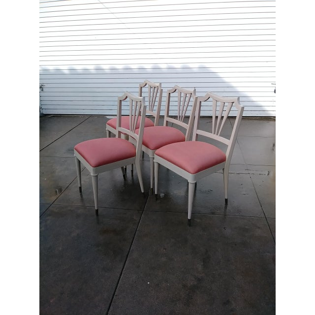1930s 1930s Vintage Paul Frank Dinning Chairs- Set of 4 For Sale - Image 5 of 13