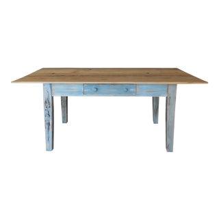 Reclaimed Thin Board Rustic Farm Dining Table