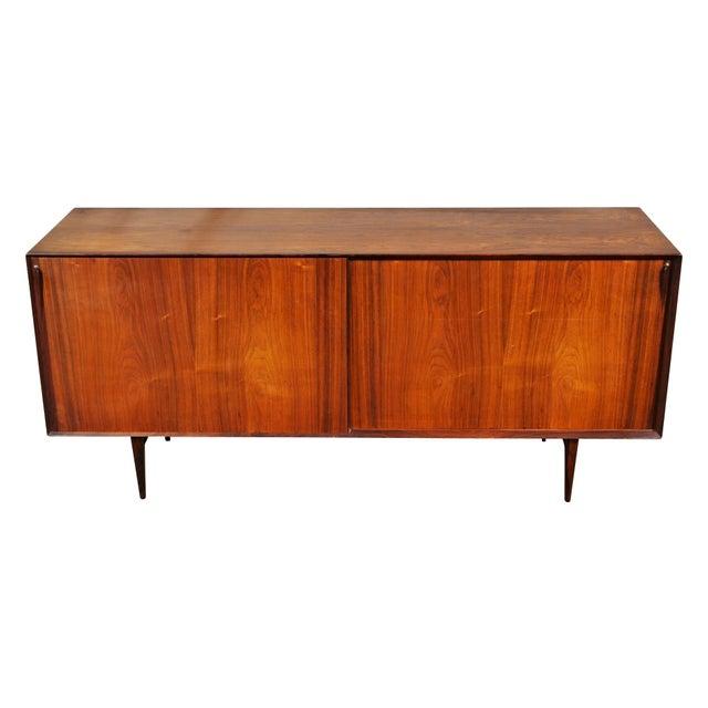Mid Century Danish Modern Rosewood Sideboard by Henry Rosengren Hansen for Brande Mobelindustri For Sale - Image 11 of 11