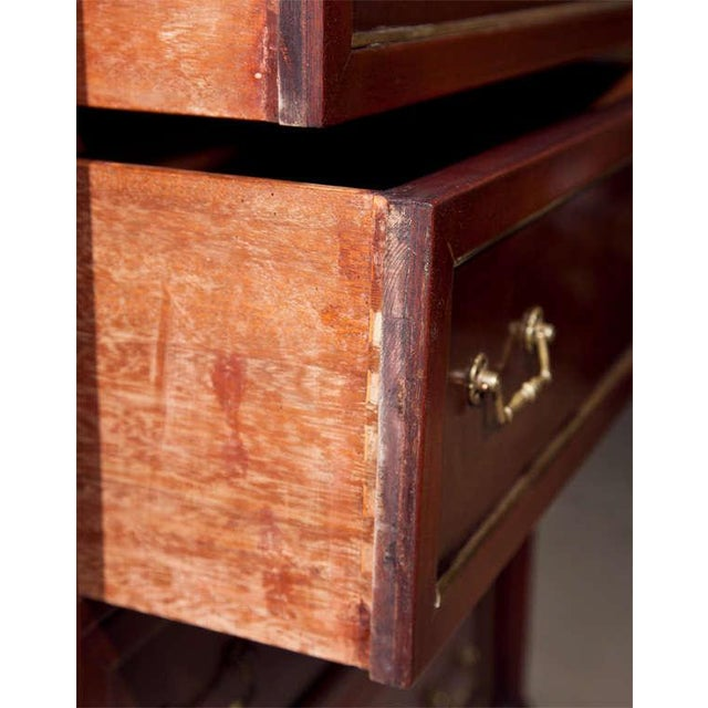 Mahogany Jansen Directoire Style Mahogany Chest of Drawers For Sale - Image 7 of 9