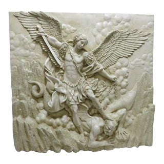 17th Century Style Mythological Italian Wall Plaque For Sale