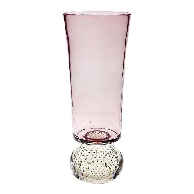 Mid-Century Modern Erickson Studio Bullicante Art Glass Vase For Sale