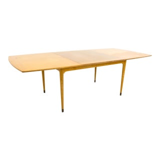 Mid Century Modern John Keal for Brown Saltman of California Mahogany Dining Table For Sale