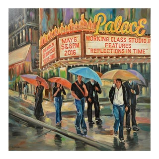 Painting of the Palace Theater For Sale