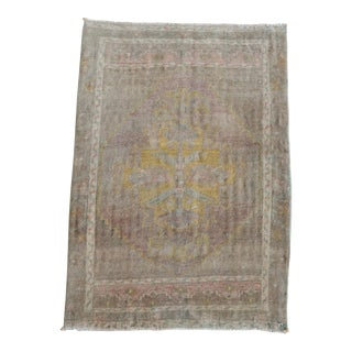 Hand Knotted Door Mat, Entryway Rug, Bath Mat, Kitchen Decor, Small Rug, Turkish Rug - 1′10″ × 2′7″ For Sale