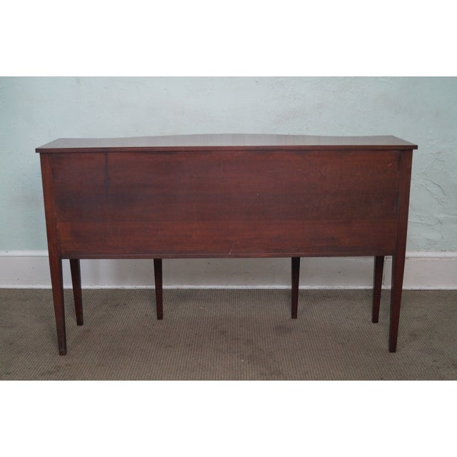 Brown Marlboro Manor for Sacks 1920s Mahogany Sideboard For Sale - Image 8 of 10