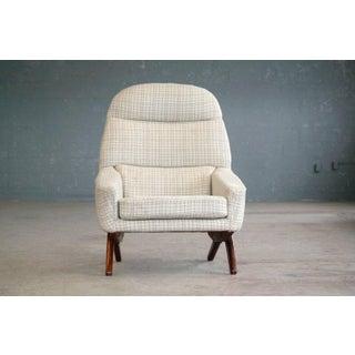 Leif Hansen Lounge Chair Danish, Midcentury Preview