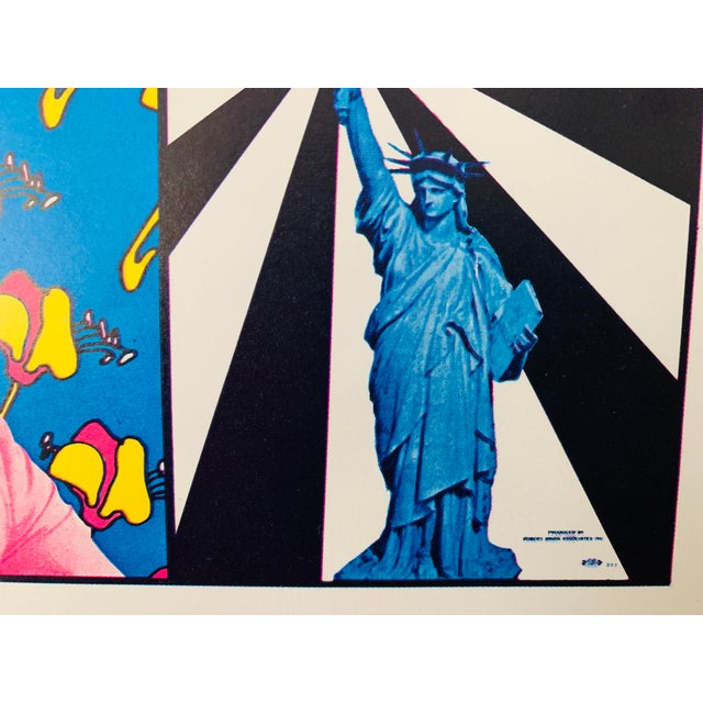 Peter Max Iconic New York City Images Print For Sale - Image 9 of 10