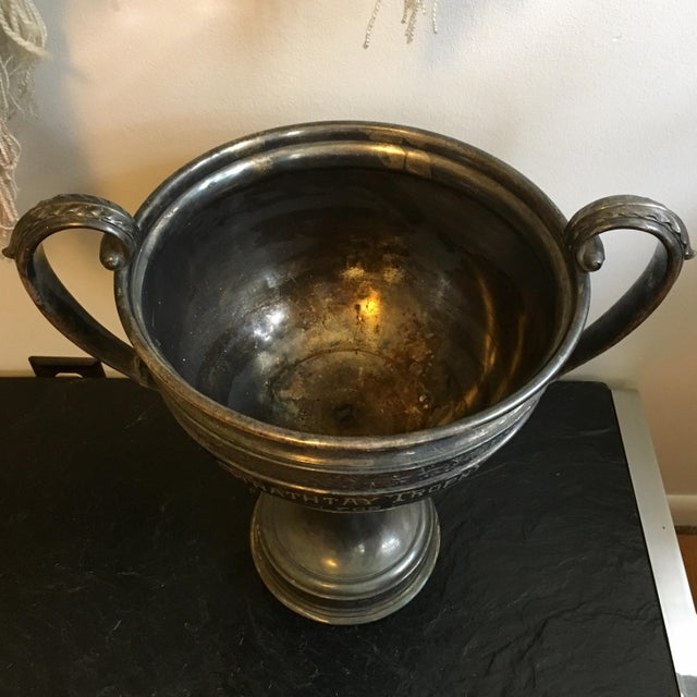 1910s Early 1900's Oversized Dog Show Loving Cup For Sale - Image 5 of 10